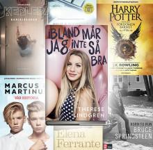 Bokåret 2016 - de är årets mest sålda böcker!