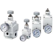 Unika precisionsregulatorer utan läckflöde från SMC
