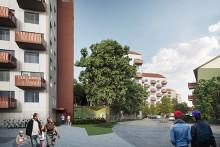 Framtiden Byggutveckling snabbar på byggandet