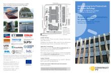 """Programm-Flyer zum Fachforum """"Gebäudeintegrierte Photovoltaik für Green Buildings"""""""