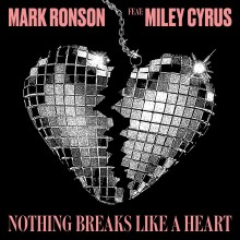 "Mark Ronson är tillbaka med nya singeln ""Nothing Breaks Like A Heart"" feat. Miley Cyrus"