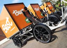 Vi tar ytterligare ett steg i hållbara leveranser och välkomnar Best Transport lastcyklar till Nordstan.