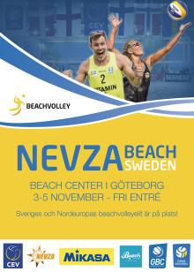 Internationell Beachvolley 3-5/11 på Beach Center