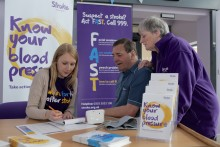 ​Stroke Association set to Make May Purple in Sheffield