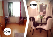 Renovering av en lägenhet på 1 rok