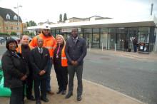 Thameslink finishes station bang on time