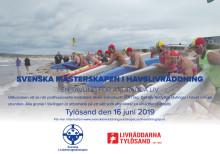 Inbjudan till öppna Svenska Mästerskapen i Havslivräddning 16 juni 2019