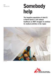 Läkare Utan Gränsers rapport 'Sombody help'