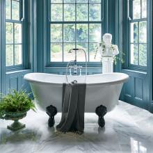 Vi ska inreda badrummen med stil och omtanke om oss själva