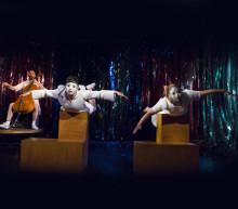 Barns fantasi tema i pjäs för mellanstadiet
