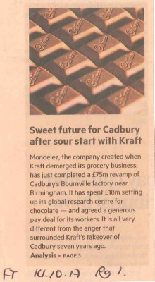 Sweet Future for Cadbury