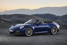 Startklar til sæsonen for åbne biler – den nye Porsche 911 Cabriolet