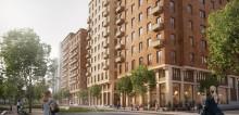 Kunskapsprojekt på tvären ska minska klimatbelastningen i Sveriges största bostadsprojekt i trä.