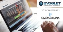 Kundreferens: Glasmästarna i Skåne håller koll med Bygglet