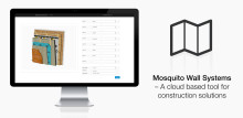 BIMobject® Mosquito Wall Systems, new cloud-based tool for construction solutions