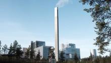 Gigantisk termos säkrar värmen till Jönköping
