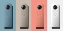 Ricoh lanserar en ny 360-kamera i sin Theta-serie