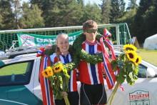 Bøe Jacobsen og Kartfjord vant historiens første NM i sprint