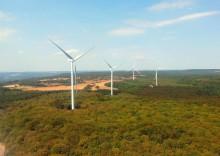 RES inaugure le parc éolien des Portes de la Côte d'Or (21) - 54 MW