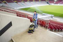 Praktisk rengjøring i upraktiske omgivelser - Ny gulvvaskemaskin fra Kärcher