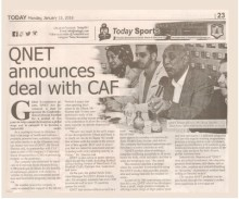 QNET announces deal with CAF