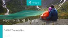 MyBank Q4 2017 presentation