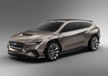 Urheilullinen Subaru VIZIV Tourer Concept paljastettiin Genevessä