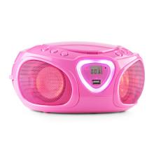 auna Roadie Boombox: Sound- und Lichtspektakel für kleine Musikliebhaber