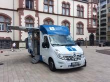 Beratungsmobil der Unabhängigen Patientenberatung kommt am 21. September nach Limburg a. d. Lahn.