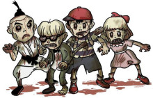 Sminkworkshop, cosplay, zombies, sagoland och vikingar