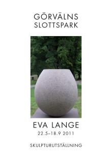 Om Görvälns skulpturpark och utsällning av Eva Lange 22.5-18.9 2011
