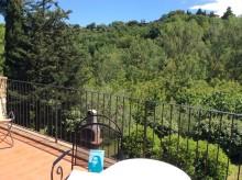 Prosecco till lunch - Åsa förbereder sig i Montepulciano