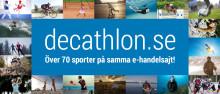 Decathlon.se får nytt utseende och större sortiment
