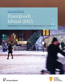 Öppna jämförelser – Energi och klimat 2015