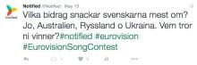 Med Notified visste vi vinnaren i Eurovision innan alla andra