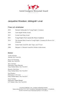 Bibliografi Jacqueline Woodson