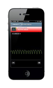 Ascom introducerar EKG-kurvor i smartphones och tablets
