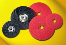 Nye fiberrondeller fra Flexovit giver større slibeevne