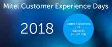 Mitel Customer Experience Days 2018
