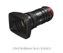 Canon lanserar kompakt Cine-objektiv med servodrift
