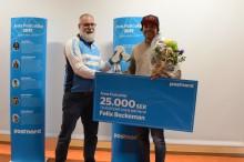 Felix Beckeman och Jennie Stenerhag vann utmärkelsen Årets Postcyklist 2017