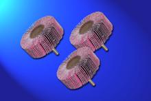 Nye lamelslibevifter til slibning af rustfrit stål