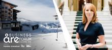 Centerpartiets Annie Lööf invigningstalar under Åre Business Forum