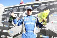 Mattias Andersson mästerskapstrea efter premiärhelgen i STCC - tog en pallplats i sin Dacia