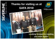 Thanks for visiting us at GAFA 2016!