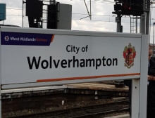 Design ideas invited for Wolverhampton station hoarding