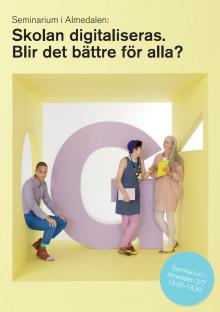 Inbjudan Gleerups seminarium Almedalen