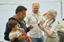Läkarmissionen gör akutinsats för flyktingar från Syrien