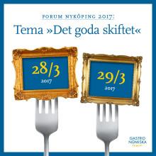 Forum Nyköping med Matverk den 28 till 29 mars 2017