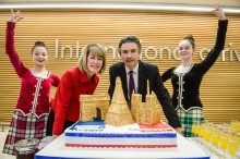 Air France celebrates new Paris - Glasgow route